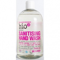 Bio D Sanitising Hand Wash - Geranium 500ml