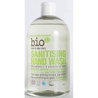 Bio D Sanitising Hand Wash - Refreshing Lime and Aloe Vera