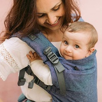 Boba X Baby Carrier - Newborn to Toddler in Comfort - Chambray