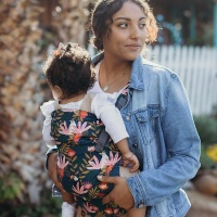 Boba X Baby Carrier - Newborn to Toddler in Comfort - Bohemian Paradise