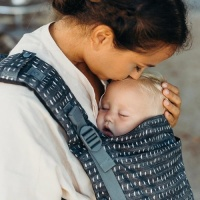 Boba X Baby Carrier - Newborn to Toddler in Comfort - Denim Rain