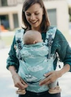 Boba X Baby Carrier - Newborn to Toddler in Comfort - Whimsical Whales