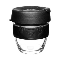 KeepCup Brew Reusable Coffee Cup Black