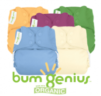 bumGenius Elemental Organic Cotton Cloth Nappy Value Packs
