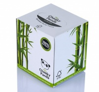 The Cheeky Panda Luxury Tissue Box - 100% Sustainable Bamboo