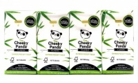 The Cheeky Panda Luxury Pocket Tissue from 100% Sustainable Bamboo 8 Pack