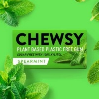 Chewsy Plant Based Compostable Chewing Gum Spearmint