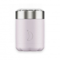 Chilly's Reusable Food Pots - Hot or Cold Foods in Leakproof Container Blush Purple 300ml