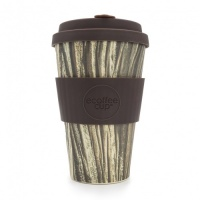 Ecoffee Reusable Coffee Cup - No Excuse For Single-Use - Baumrinde 14oz/400ml