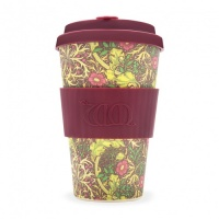 Ecoffee Reusable Coffee Cup - No Excuse For Single-Use - William Morris Collection Seaweed 14oz/400ml