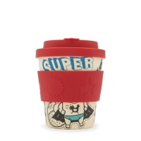 Ecoffee Reusable Boo Cup for Kids - Superhero Fuel