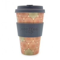 Ecoffee Reusable Coffee Cup - No Excuse For Single-Use - Swirl 14oz/400ml