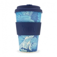 Ecoffee Reusable Coffee Cup - No Excuse For Single-Use - William Morris Collection Acanthus 14oz/400ml