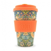 Ecoffee Reusable Coffee Cup - No Excuse For Single-Use - William Morris Collection Thief 14oz/400ml