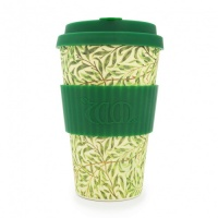 Ecoffee Reusable Coffee Cup - No Excuse For Single-Use - William Morris Collection Willow 14oz/400ml