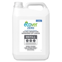 Ecover Zero Ultra Sensitive Washing Up Liquid 5 Litre Refill