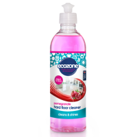 Ecozone Hard Floor Cleaner - Cleans and Shines - Pomegranate