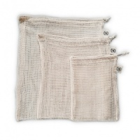 Elephant Box Organic Cotton Mesh Produce Bags - Cut Down On Plastic Bags