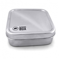 Elephant Box Stainless Steel Snack Box - No Plastic - Easy to Clean