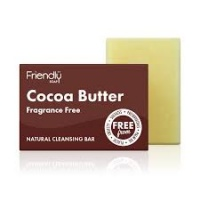 Friendly Soap Cocoa Butter Natural Cleansing Bar Fragrance Free