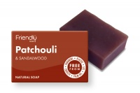 Friendly Soap Biodegradable Plastic Free Patchouli and Sandalwood