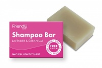 Friendly Soap Biodegradable Plastic Free Shampoo Bar - Lavender and Geranium