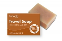 Friendly Soap Biodegradable Plastic Free Travel Soap for Hair, Body and even Laundry