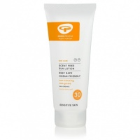 Green People Scent Free Sun Lotion SPF 30 for Sensitive Skin