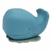 Hevea Natural Rubber Harold the Whale - Plant based, Plastic-free, Non-Toxic