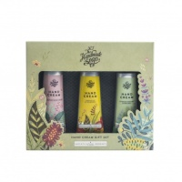 The Handmade Soap Company Hand Cream Gift Set 3 x 30ml