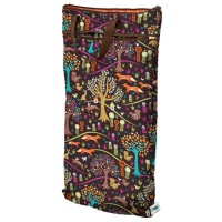Planetwise Reusable Hanging Wet/Dry Bag Jewel Woods