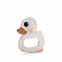Hevea Kawan Natural Rubber Duck Teether - Highly Hygienic Design - Plastic Free