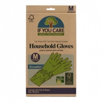 If You Care Compostable Natural Rubber Washing Up Gloves