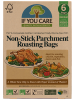 If You Care Compostable Non Stick Parchment Roasting Bags 6 Pack