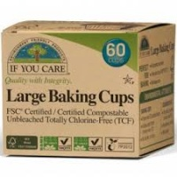 If You Care Compostable Chemical Free Muffin Baking Cups - Large
