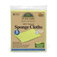 If You Care Natural Compostable Sponge Cleaning Cloths 5 Pack
