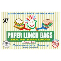 The Paper Lunch Bag Co 50 Greaseproof Paper Lunch Bags