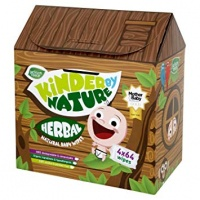 Jackson Reece Kinder By Nature Herbal Baby Wipes - 100% Biodegradable Treehouse 4 Pack