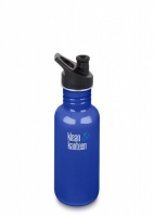 Klean Kanteen Classic Stainless Steel Reusable Water Bottle - 532 ml / 18 oz - Coastal Waters