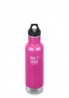 Klean Kanteen Classic Vacuum Insulated Stainless Steel Drinks Bottle - 592ml / 20oz Wild Orchid