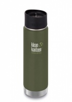 Klean Kanteen Wide Insulated Stainless Steel Drinks Holder - Perfect for Coffee or Cold Drinks 592ml/20oz Fresh Pine