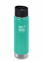 Klean Kanteen Wide Insulated Stainless Steel Drinks Holder - Perfect for Coffee or Cold Drinks 592ml/20oz Sea Crest