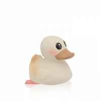 Hevea 3 in 1 Kawan Natural Rubber Duck Mini - Playing / Teething / Bathtime Fun with Zero Plastic