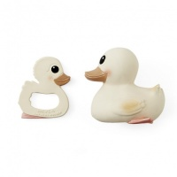 Hevea 3 in 1 Kawan Natural Rubber Duck and Teether Set - No Plastic - No Mould