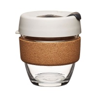 KeepCup Brew Reusable Coffee Cup with Cork Band - Filter