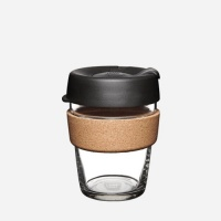 KeepCup Brew Reusable Coffee Cup with Cork Band - Espresso