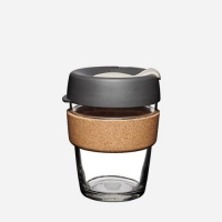 KeepCup Brew Reusable Coffee Cup with Cork Band - Press