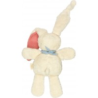 Keptin Jnr Tjumm Organic Cotton Soft Bunny - Recycled Water Bottles Filling - Blue Scarf