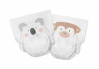Kit & Kin High Performance Eco Friendly Nappies Size 5 Monthly Box 11kg+/24lbs+