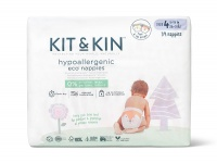 Kit & Kin High Performance Eco Friendly Nappies Size 4 - 9-14kg/20-31lbs (34 nappies)